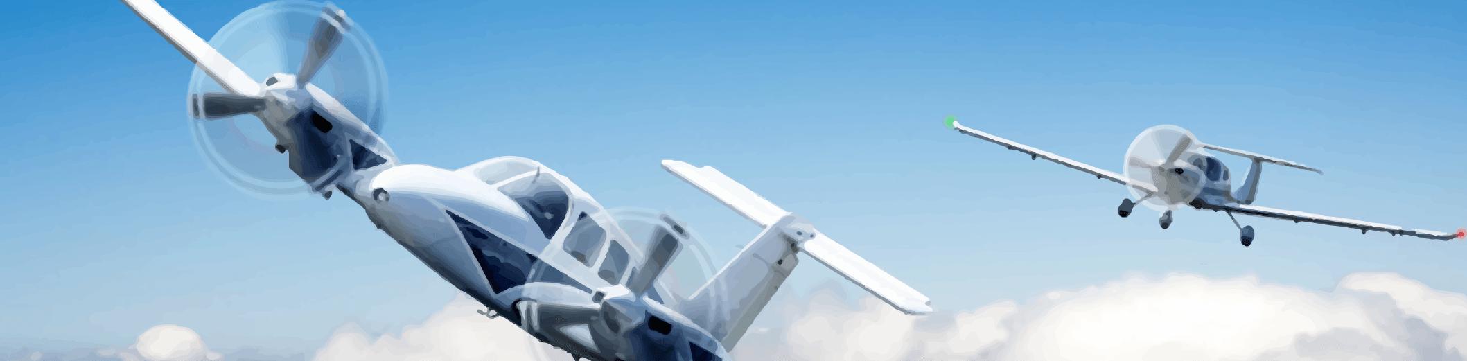 שני מטוסים קלים