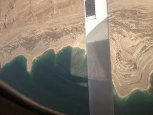 טיסה בססנה מעל ים המלח