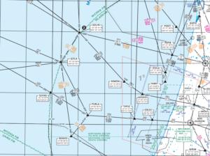 מפת נתיבי טיסת מכשירים