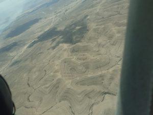 טיסות לאילת - מבט מבעד לחלון המטוס