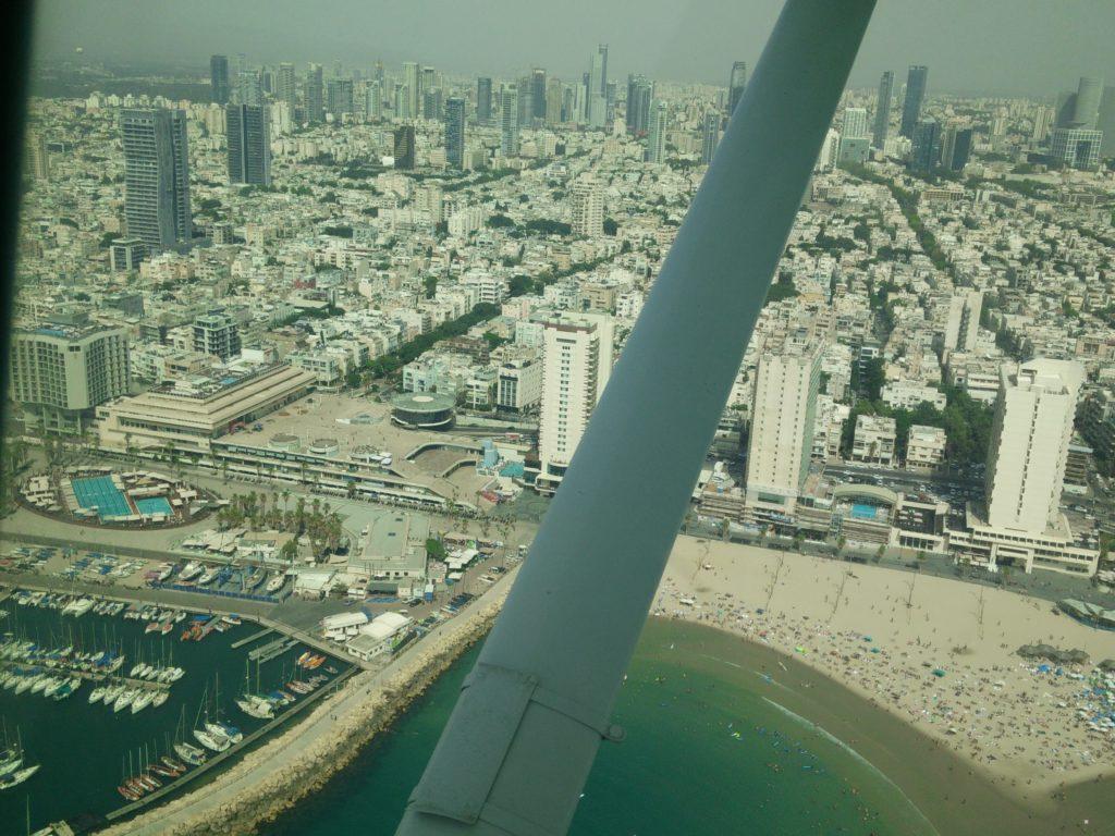 תל אביב בצילום מהאוויר