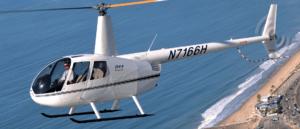 מסוק מדגם רובינסון R44