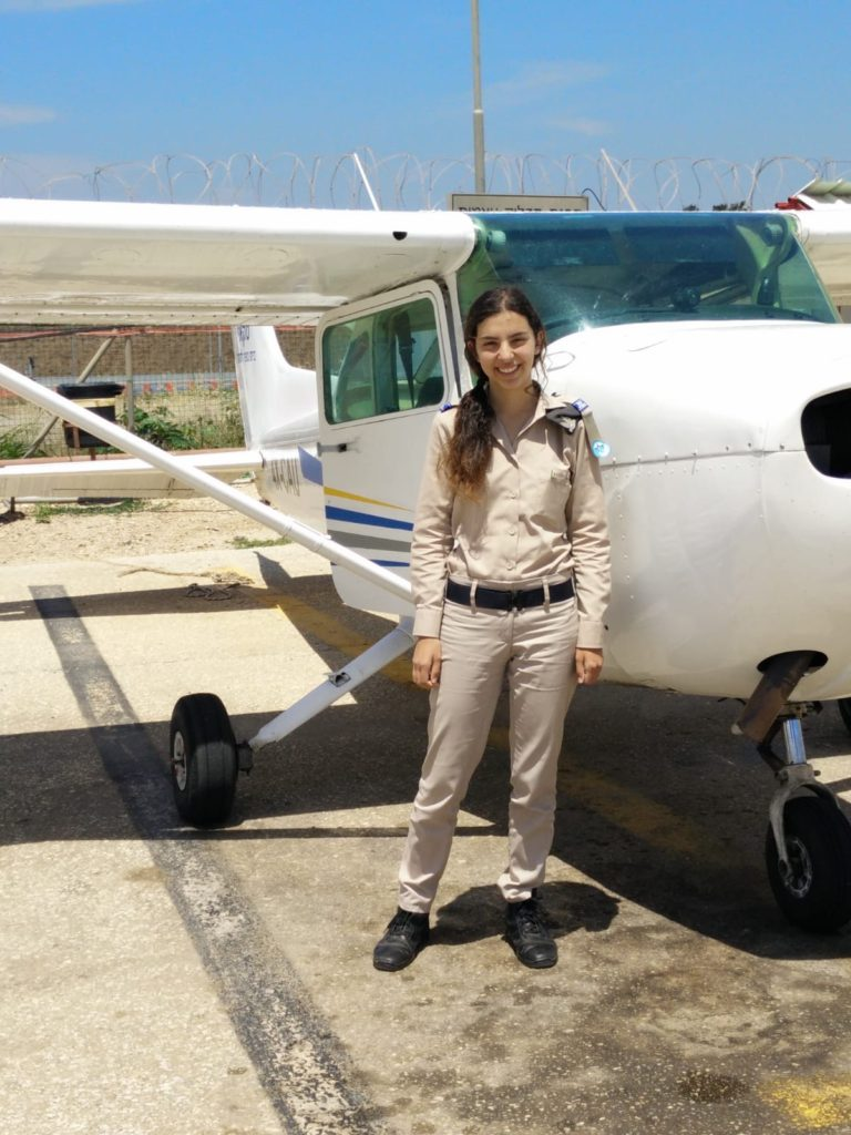 עדי מביטאון חיל האוויר בטיסת טייס ליום אחד
