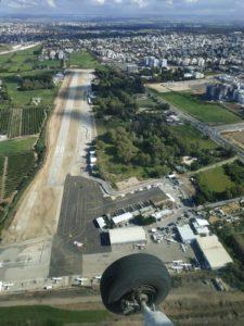 צילום אווירי של שדה התעופה הרצליה