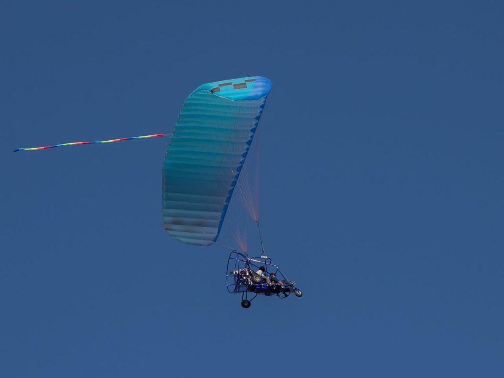 טרקטורון מעופף בטיסה גבוהה