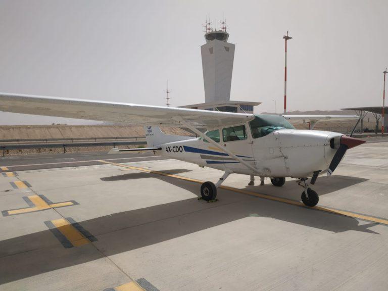 ססנה 172 בשדה התעופה רמון