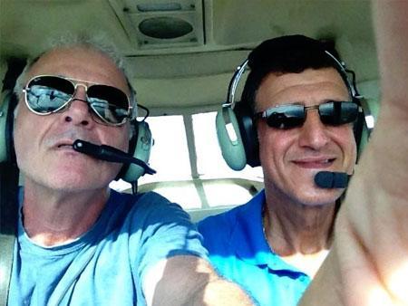 טיסת מתנה לגבר בן 50