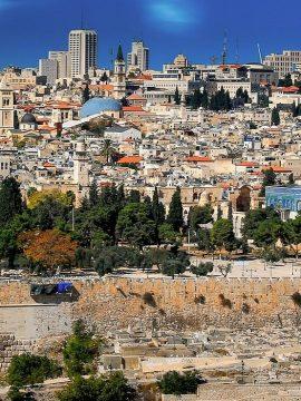 טיסה בשמי ירושלים